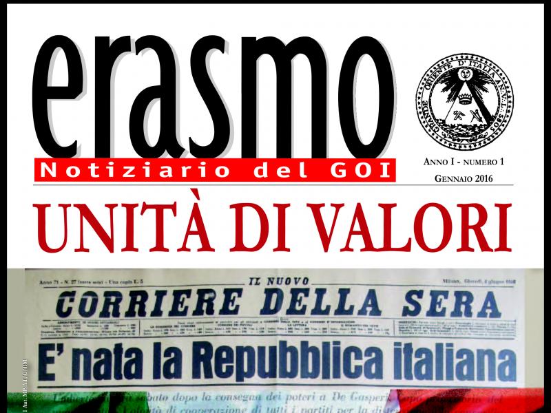 E online il numero di gennaio della rivista erasmo for Numero di politici in italia
