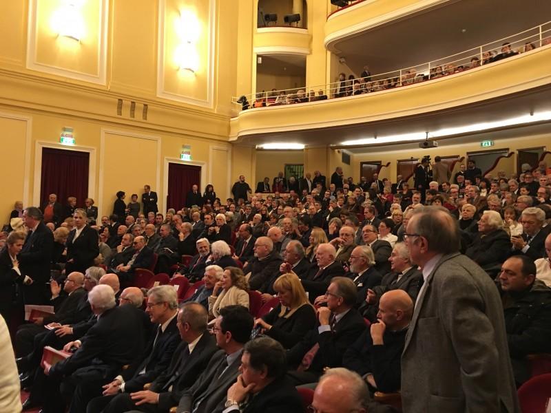 Il pubblico del Teatro del Casinò di San Remo