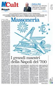 Metropolis Intervista al Gm - Servizio sulla Massoneria
