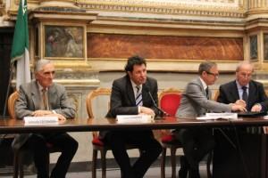 L'intervento di Luca Guazzati, autore del libro presentato a Fabriano