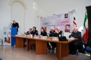 Convegno I Sardi e il Risorgimento. Il tavolo dei relatori
