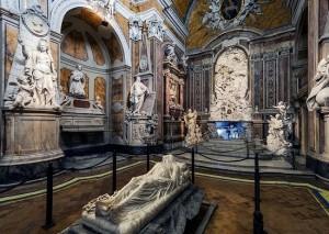 Interno della Cappella di Sansevero