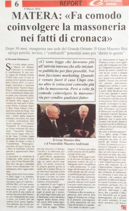 Controsenso Basilicata del 9 marzo 2016