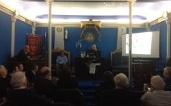 """""""Le pietre parlano"""". L'ultima conferenza del primo ciclo di iniziative promosse dall'Oriente di Livorno."""
