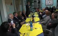 Asili notturni di Torino. Alla cena annuale il sindaco Piero Fassino con il vicesindaco Elide Tisi