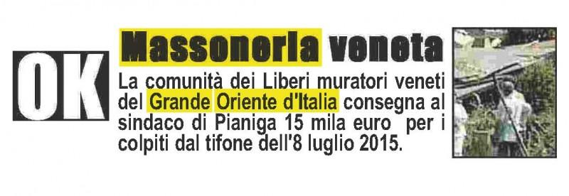 Corriere del Veneto.com del 7 aprile 2016