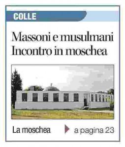 Il Corriere di Siena in prima pagina il 12 aprile 2016