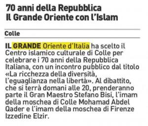 La Nazione - Siena 07.04.2016