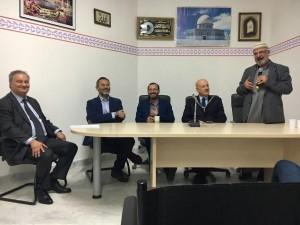 I relatori alla Moschea di Colle Val d'Elsa