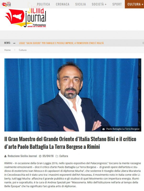 Sicilia Journal 05.04.2016