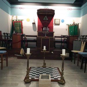 Il tempio della casa massonica di Chianciano Terme