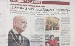 «Il Senato ci restituisca Palazzo Giustiniani» – Il Tempo
