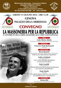 Genova 11 giugno 2016