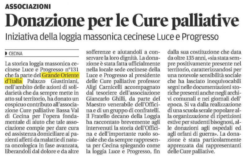 Il Tirreno - Cecina 03.05.2016