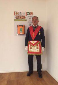 Il presidente circoscrizionale della Lombardia Enzo Liaci nella sede di Via Pirelli