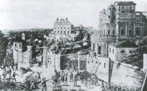 Girolamo Induno, Villa Giraud, 1849 (Archivio del Museo Storico del Risorgimento)