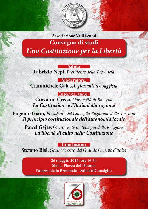 locandina del convegno Provincia di Siena