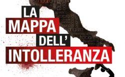 La Mappa dell'Intolleranza 2016 fotografa un'Italia intollerante verso le minoranze e le diversità