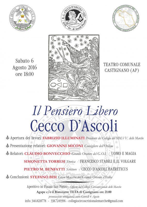 Castignano 6 agosto