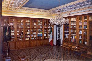 Sala della Biblioteca del Grande Oriente d'Italia