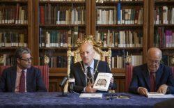 """Il Gran Maestro incontra la stampa al Vascello: """"Rivogliamo quei 120 mq che ci spettano di Palazzo Giustiniani e che il Fascismo ci strappò"""""""