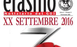 """E' on line il numero di settembre di """"Erasmo"""""""