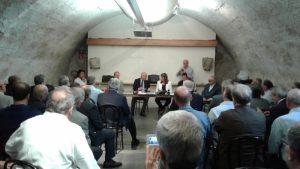 La riunione del Collegio dell'Emilia Romagna nel Castello di Compiano