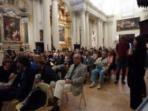 Pubblico nella Pinacoteca San Domenico a Fano