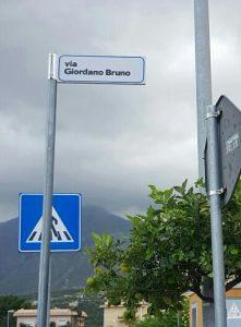 La Via Giordano Bruno a Termini Imerese