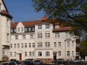 Giordano Bruno Straße a Leipzig, in Sassonia