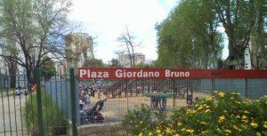 Plaza Giordano Bruno a Buenos Aires