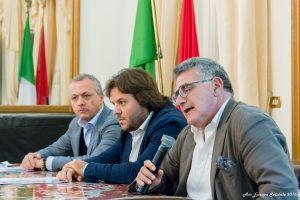 """I responsabili dell'Associazione """"Europa Solidale"""" di Taranto"""