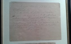 L'archivio del Goi si arricchisce di un prezioso cimelio garibaldino, dono delle logge senesi al Gran Maestro
