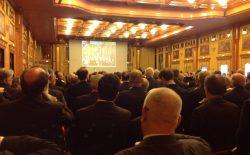 Tantissimi fratelli alla tornata congiunta delle logge lombarde a Milano