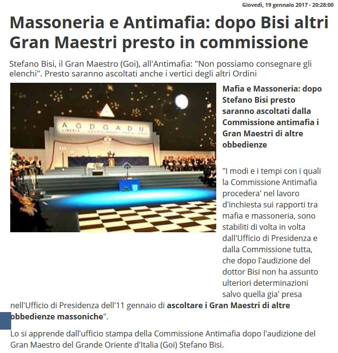 Affaritaliani 19.01.2017