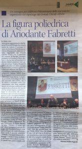 Corriere dell'Umbria 23.01.2017