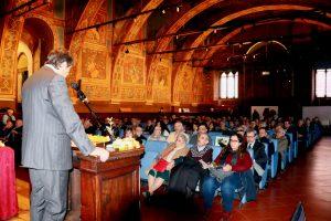 Sala dei Notari per il convegno su Fabretti