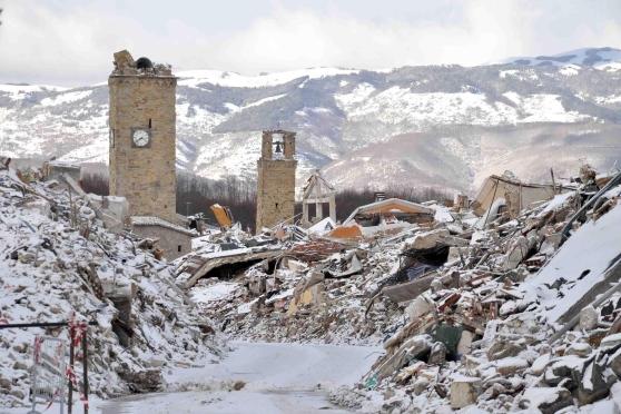 Il nostro cuore vicino alle popolazioni del Centro Italia colpite da terremoto ed emergenza neve