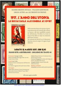 Firenze 25 marzo 2017