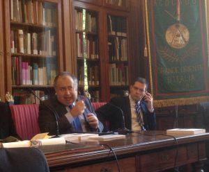 Giuseppe Benedetto e Daniele Capezzone