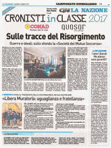 La Nazione, Umbria del 21 febbraio