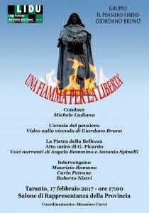 Taranto 17 febbraio