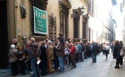 Giornate Fai. Boom di presenze a Palazzo Altoviti, sede della Massoneria toscana del Grande Oriente d'Italia