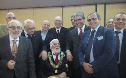 Celebrati a Locri i 50 anni di massoneria del fratello Aurelio Palmieri
