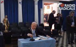 Palermo. Su Radio Radicale la conferenza stampa del Gran Maestro nella sede massonica di Piazzetta Speciale | video