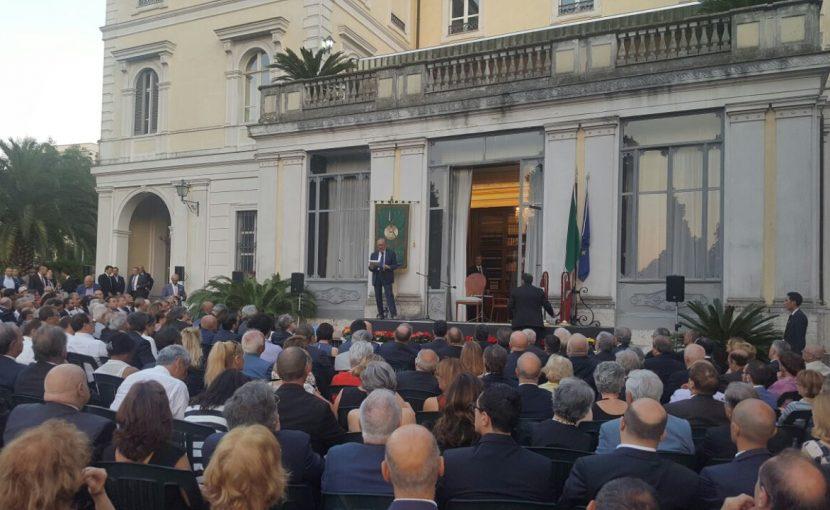 Festa al Vascello per 300 anni della Massoneria moderna. L'allocuzione del Gran Maestro