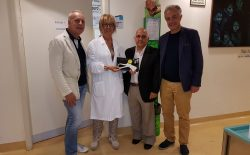 Fratellanza Fiorentina Onlus. Nuova donazione per i piccoli ammalati