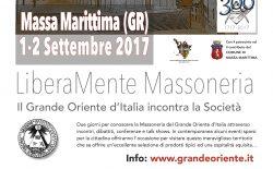 Liberamente Massoneria 2017. Appuntamento a Massa Marittima il 1 e 2 settembre