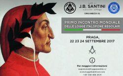 Primo incontro mondiale delle logge italofone. Appuntamento a Praga dal 22 al 24 settembre