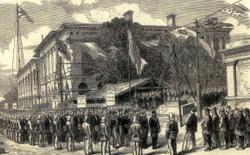 La Posa della Prima Pietra. Tornata della Loggia Elia Coppi di Cortona il 6 ottobre